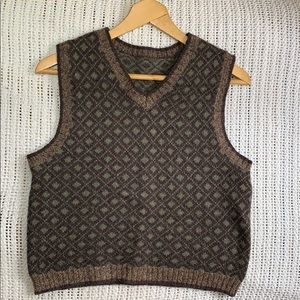 Vintage wool sweater vest